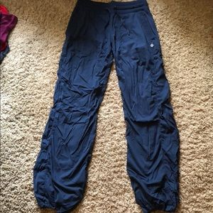 Navy Studio Pants